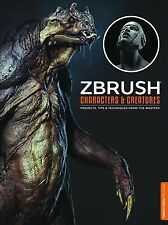 ZBrush Characters and Creatures by 3DTotal Publishing Staff, Mathieu Aerni, Mariano Steiner and Kurt Papstein (2015, Paperback)
