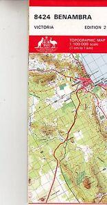 Benambra (VIC) 8424 Victoria Natmap Topographic Map new, freepost ...