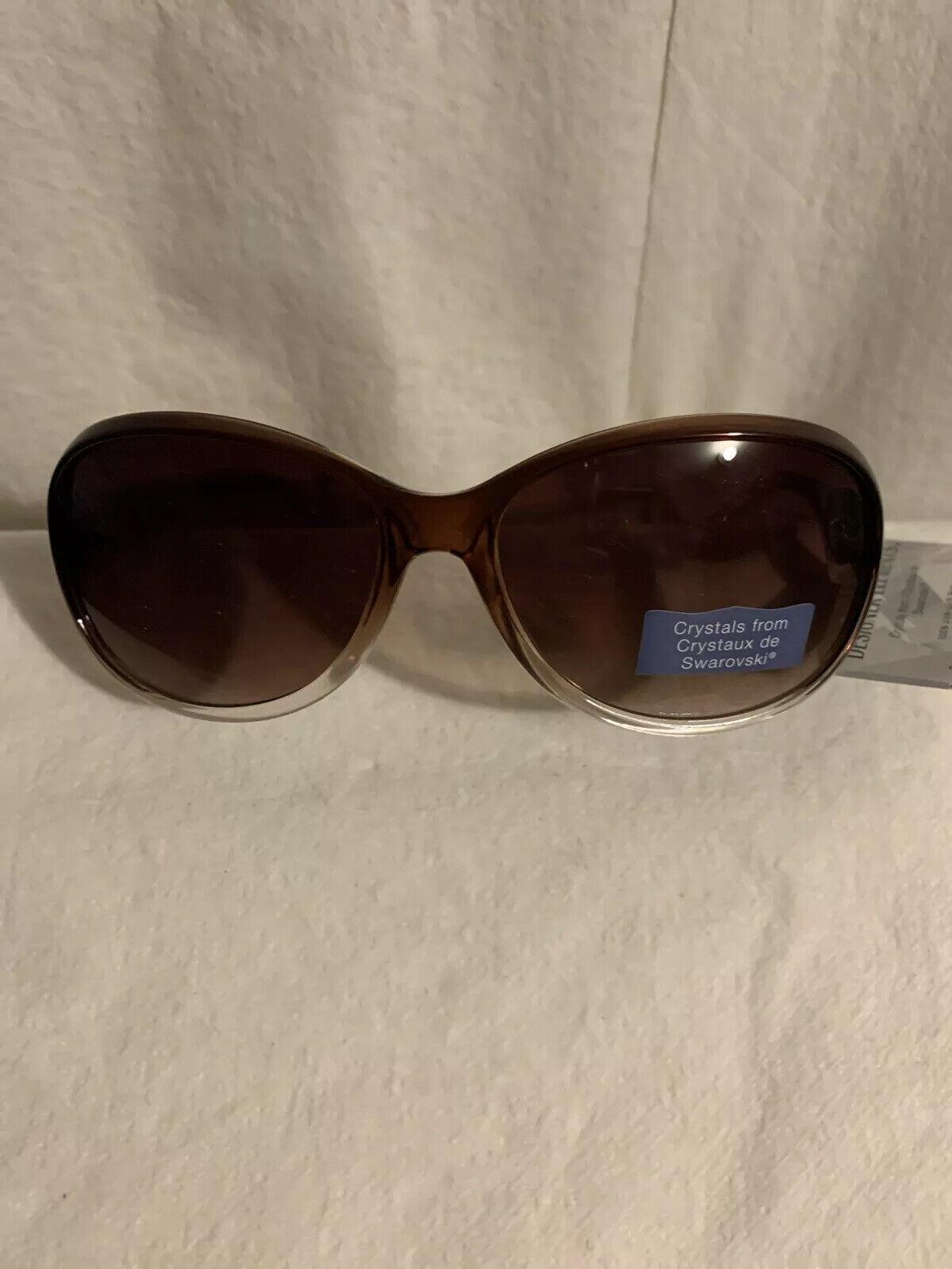 """dare 10223907""DESIGNER ELEMENTS Crystals Fr/Crytaux de Swarovski Sunglasses"
