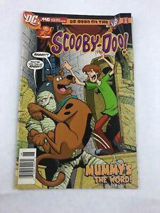 Scooby-Doo-119-Mummy-039-s-The-Word-June-2007-Comic-Book-DC-Comics
