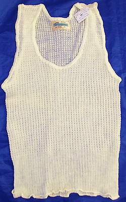 Vintage spencer vest Ladies 1950s wool lacy underwear SNUGGIES Arachne UNUSED