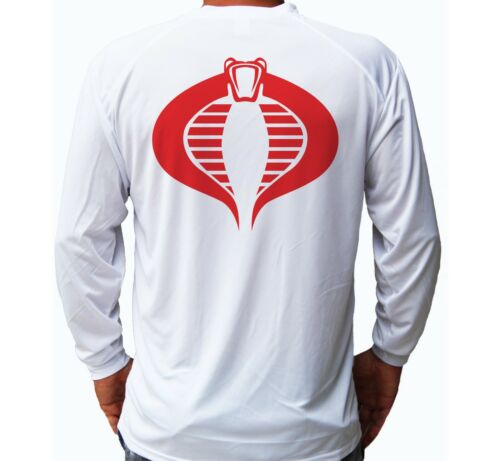 GI Joe Adventure Sport Long Sleeve UPF 30 T-Shirt Fishing Boat UV Protection