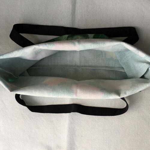 Basset Hound Dog Print Linen Tote Bags Eco Reusable Shopping Bag Beach Bag