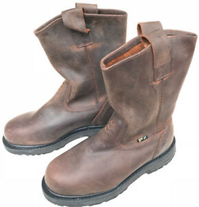 58875a52549 Details about Timberland PRO Steel Toe Wellington A11YA Gaucho Oiled Work  Boots Men's 7 W new