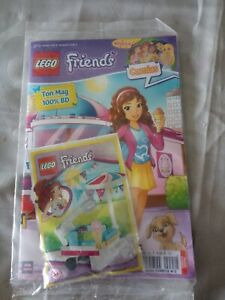 REVUE-COMICS-LEGO-FRIENDS-NUMERO-2-2-BD-1-CADEAU-SOUS-BLISTER-NEUF
