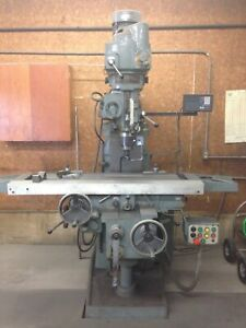 5HP SUPERMAX RAM TYPE VERTICAL MILLING MACHINE: YODER #64117