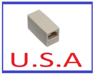Ethernet Coupler//Internet//RJ45//8P8C//Adapter//Extension//Connector//Joiner//Cat5//B-20