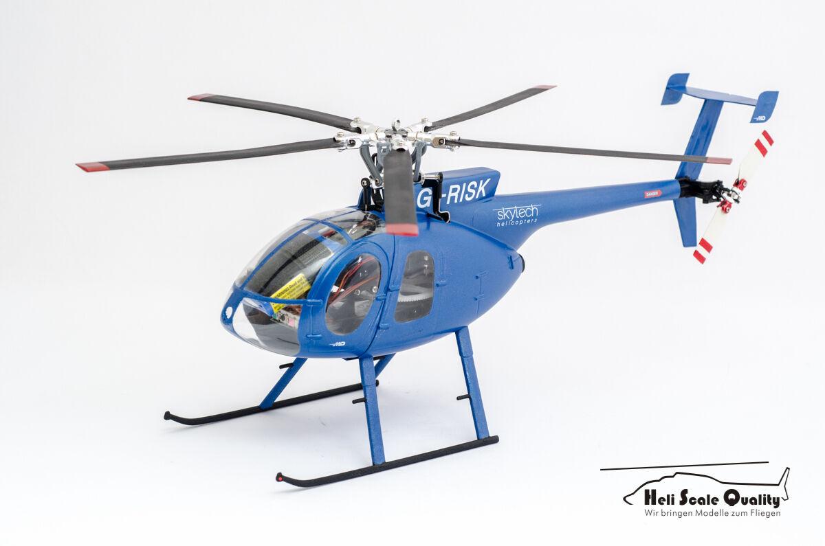 - Scafo KIT MD 500e 1:24  Skytech  per blade 130x/MCPX BL, align trex150