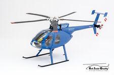 Rumpf-Bausatz MD 500E 1:24 für Blade 130X / mCPX BL, Align TRex150 und andere