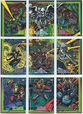1993 Skybox Marvel Universe IV X-men Base Card You Pick Finish Your Set 1-90