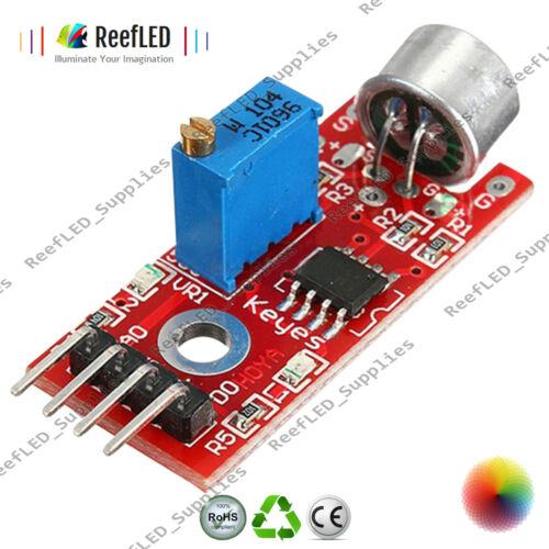 5V DC Sensitive Microphone Sound Sensor Detection Module Arduino AVR PIC UK