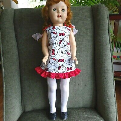 """Rainbow Hello Kitty 15/"""" Doll Clothes Handmade To Fit  American Girl Bitty Baby"""