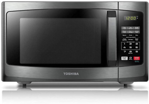 Toshiba EM925A5A-BS Microwave Oven with Sound On/Off ECO Mode and LED Lighting,