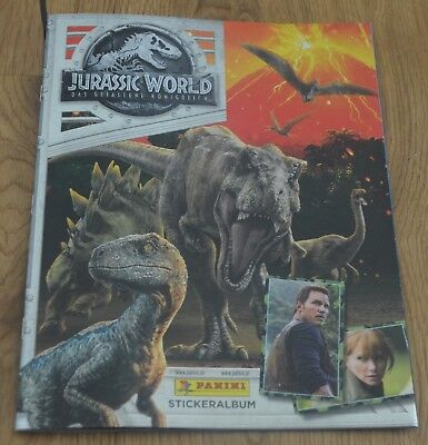 Jurassic World Album Vacío Panini