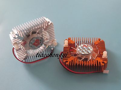 Aluminum Heatsink with fan for 5W//10W High Power LED Cooling Cooler DC12V UK