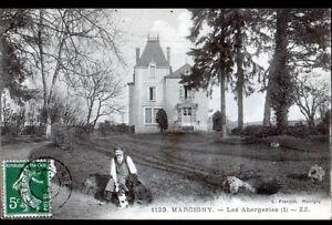 MARCIGNY-71-DOMAINE-MANOIR-LES-ABERGERIES-anime-en-1912