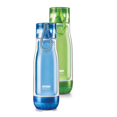 Zoku 16 Oz 475ml Ml Double Walled Glass Core Bottle
