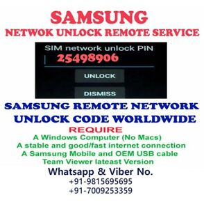Details about REMOTE UNLOCK SERVICE SAMSUNG GALAXY J3 Pro Duos SM-J3119