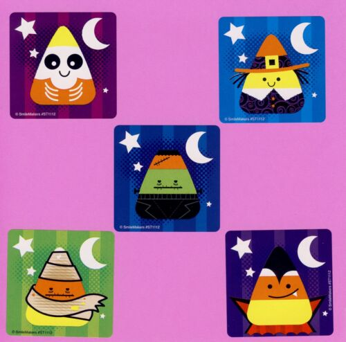 Rewards Large Stickers Party Favors 15 Halloween Candy Corn Cuties