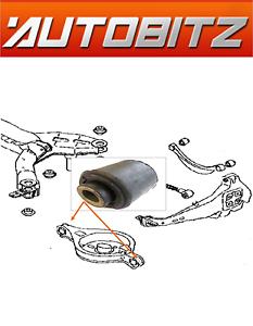 Si adatta Mazda 6 GG 2002-2007 Posteriore Sospensione A Molla PAN ARM BUSH OE Quality NUOVO