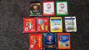 Panini-WM-EM-2004-2008-2010-2014-2016-2018-gemischte-Tueten-UEFA-FIFA