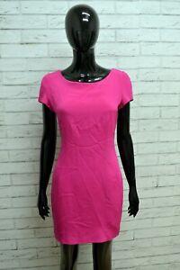 Vestito-in-SETA-Donna-GY-PARIS-Taglia-S-Abito-Dress-Tubino-Woman-Rosa-Sartoriale