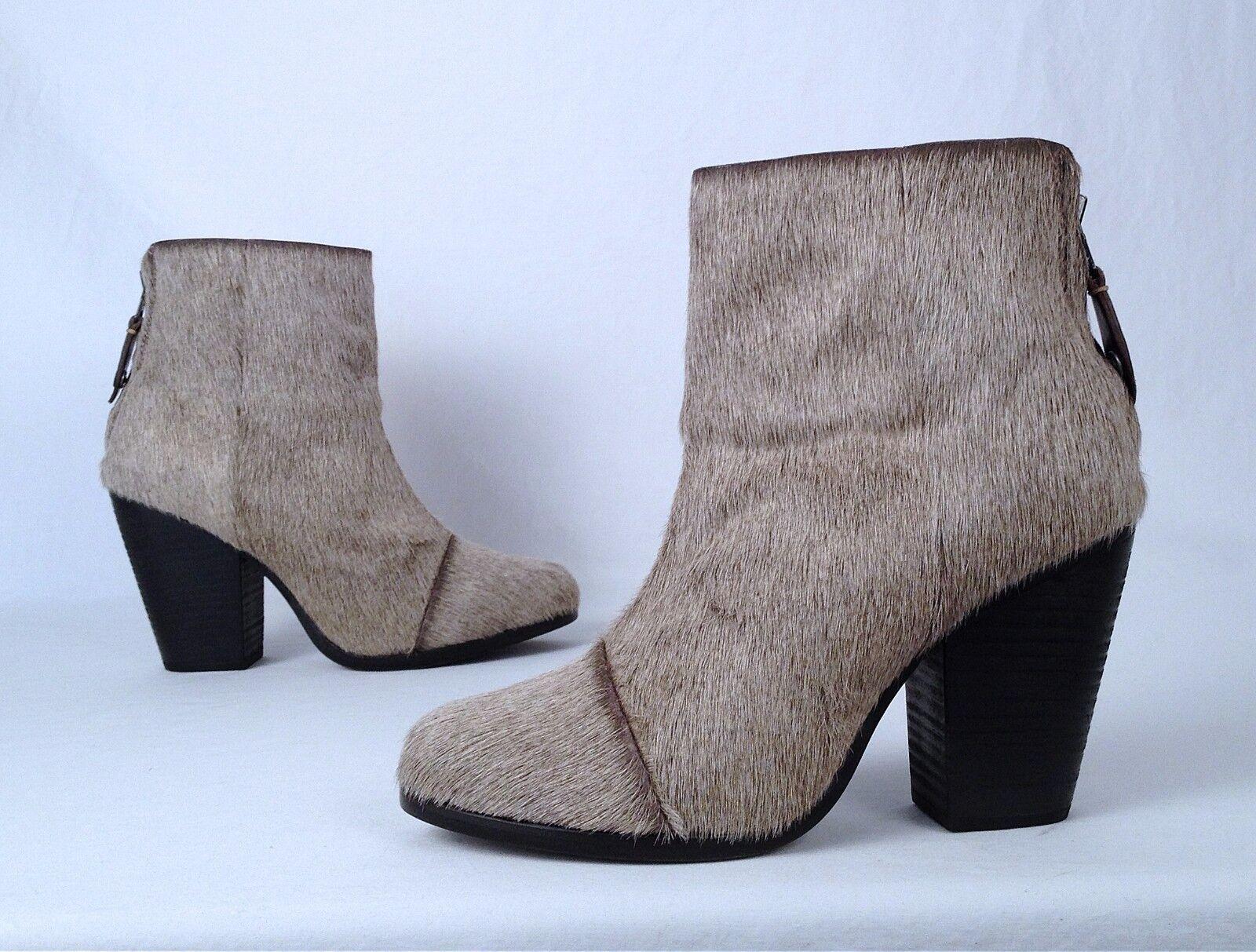 NEW!! rag & bone  'Ashby' Bootie- Pony Hair- Size 7.5 US/ 38 EU -  550 (BBB1)