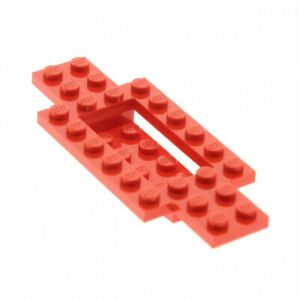 1-x-Lego-System-Fahrgestell-rot-4-x-10-x-2-3-LKW-Unterbau-Platte-Chassis-30029