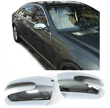 CHROME LOOK MIRROR COVERS FOR THE MERCEDES C CLASS W203 & W211 E CLASS  MODELS 2