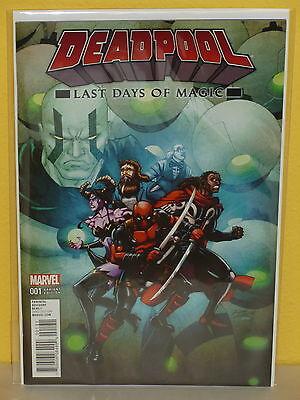 Ron Lim Variant Cover Marvel VF 2016 Deadpool Last Days of Magic #1
