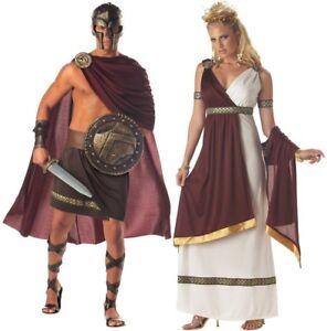 roman warrior empress adult couple costume halloween dress california costumes ebay. Black Bedroom Furniture Sets. Home Design Ideas