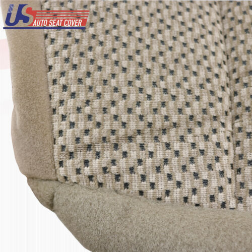 1999 /& 2000 FORD F150 XLT DRIVER BOTTOM CLOTH SEAT COVER REPLACEMENT MEDIUM TAN