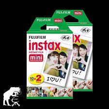 Fuji Instax Mini Sofort Film 40 Fotos für Fuji mini, Polaroid 300, Lomo Instant