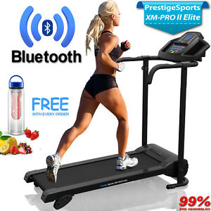 XM-PRO II Elite™ Bluetooth Treadmill - Incline Electric Folding Running Machine