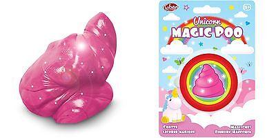Magic Licorne POO-Paillettes Putty Slime Magique caca Fun Toy