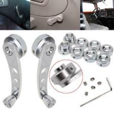 For Chevrolet Aluminum Billet Usa Anodized Chrome Window Cranks Winders Us
