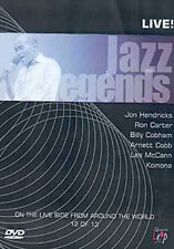 JAZZ LEGENDS ARNETT COBB - DVD - REGION 2 UK