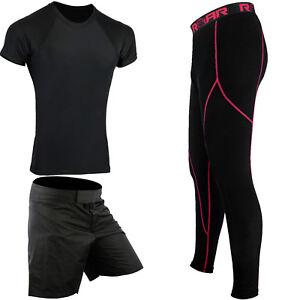ROAR-MMA-BJJ-Rash-Guard-Kickboxing-UFC-Shorts-Athletic-Sports-Legging-Gym-Wear