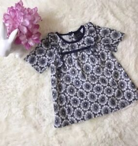 9b2074452 Image is loading NWOT-Cynthia-Rowley-Floral-Cotton-Eyelet-Dress-Baby-
