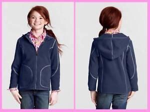 Lands/' End ~ Spring Squall Rain Jacket Little Girl/'s S $70 NIP