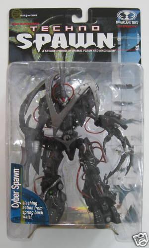MCFARLANE TOYS Cyber Spawn Figure Series 15 Techno Spawn Series Manga