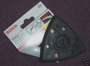 bosch pda 100 120 backing pad hook loop 2 608 000 149 ebay. Black Bedroom Furniture Sets. Home Design Ideas