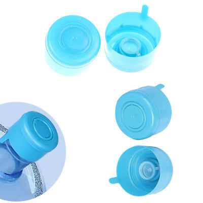 5Pcs reusable water bottle snap on cap replacement for 55mm 3-5 gallon water /_U
