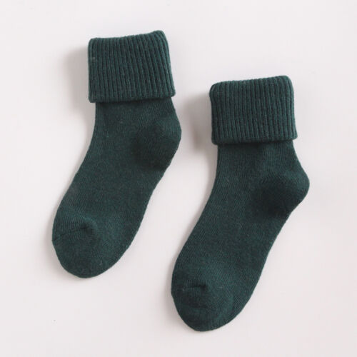 Womens Wool 90/% Cashmere Thermal Sock Lady Soft Casual Winter Socks Xmas Gifts G