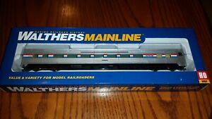 Walthers-HO-Scale-85-039-Budd-Amtrak-Large-Window-Coach-NIB-Phase-3