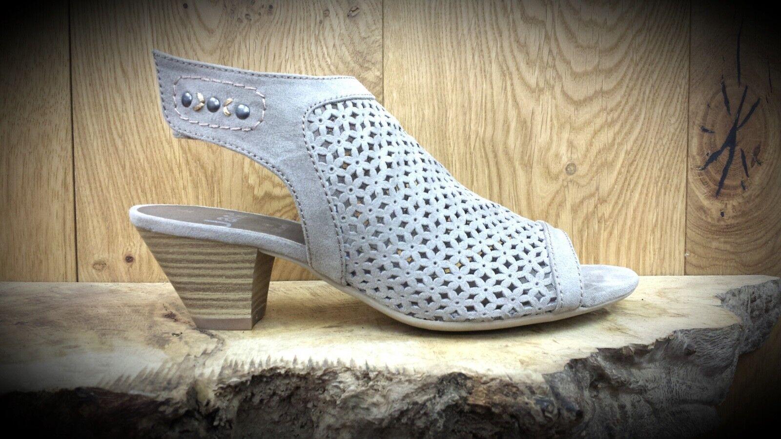Jana // 5999 // Damas Marrón Topo Comodidad Zapatos // nuevo para la primavera/verano