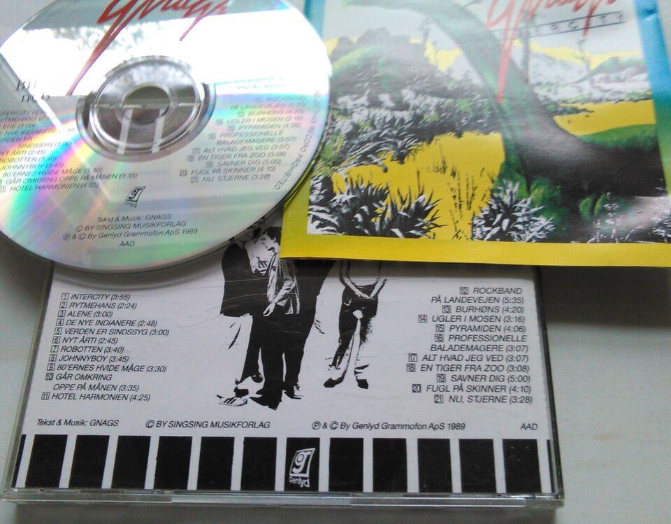 GNAGS: 10 CD'er Stk. 25 kr. – Alle 230 kr. , rock