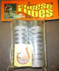 GT FREESTYLE AXLE PEGS Old School BMX Silver A PAIR New