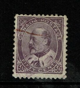 Canada-SC-95-Used-Hinge-Remnant-minor-creasing-see-notes-S6786