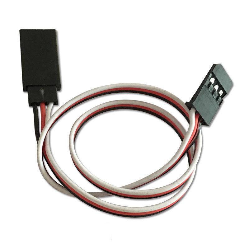 100pcs 100cm Servo Extension Cord Lead Wire Cable For Futuba